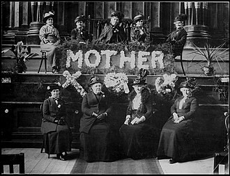 Women in law enforcement in the United States - Meeting of a local chapter of the Women's Christian Temperance Union.