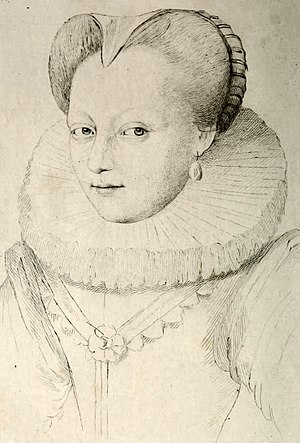 Princess of Condé - Image: Woman, 16th century, Dumonstier 02