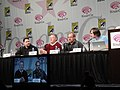 WonderCon 2011 - Thundercats new animated series panel - art director Dan Norton, voice talent Larry Kenney, and producers Ethan Spaulding and Michael Jelenic (5596531461).jpg