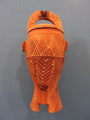 Wood jar from Oue`a, Tadjoura, Djibouti
