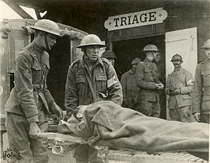 Triage - Triage station, Suippes, France, World War I