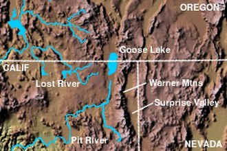 Warner Mountains - Image: Wpdms shdrlfi 020l warner mountains