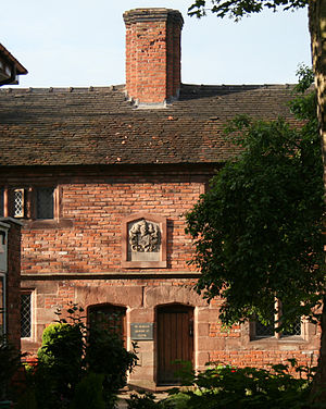 Listed buildings in Nantwich - Wright's Almshouses, Beam Street