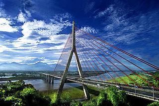 Kao-Ping Hsi Bridge bridge in Taiwan