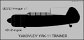 Yakovlev Yak-11 side-view silhouette.png