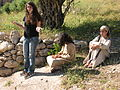 Yasmine and two villagers @ NV 0707 (513649534).jpg