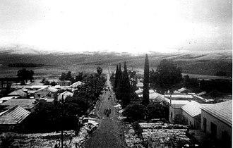 Yavne'el - Moshav Yavne'el, 1948