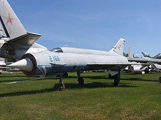 Mikoyan-Gurevich Ye-150 family Prototype interceptor series designed by Mikoyan-Gurevich
