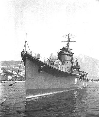 Japanese destroyer Yoizuki - Yoizuki
