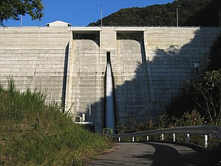 Yoji Dam Dam in Nagano Prefecture, Japan
