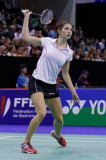 Heather Olver Badminton player