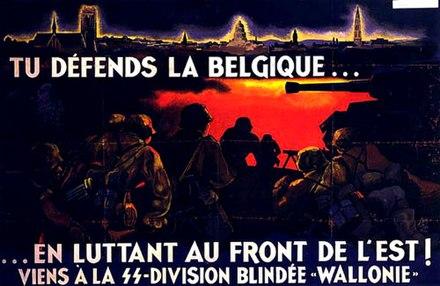 """Resultado de imagen de 28.SS-Freiwilligen-PanzerGrenadier-Division """"Wallonie"""".1ª"""
