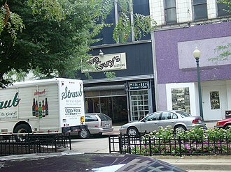 Downtown Youngstown - Federal Street in downtown, 2005