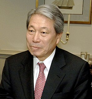 Yu Myung-hwan South Korean politician