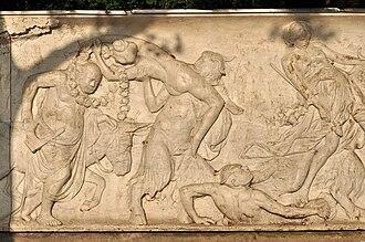 Bacchanalia - Image: Zürich Seefeldquai A. Meyer Bacchanlia IMG 1923
