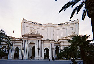 Park MGM - Front view of the Monte Carlo