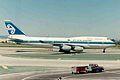 ZK-NBS 1 B747-419 Air New Zealand LAX 12MAR94 (6582244083).jpg