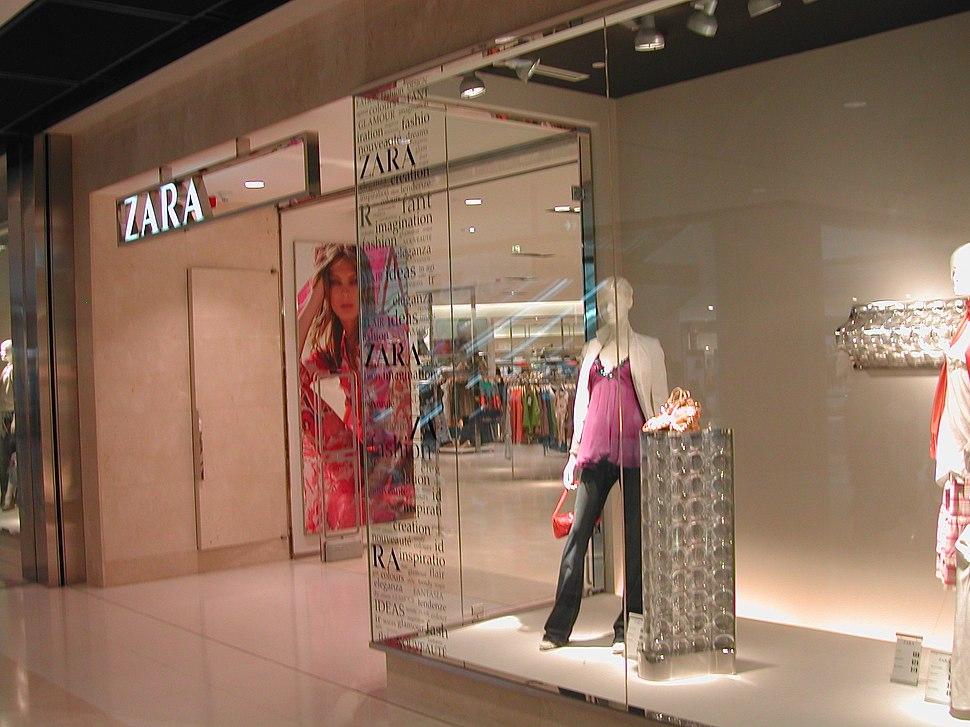 Zara boutique in ifc Central Hong Kong