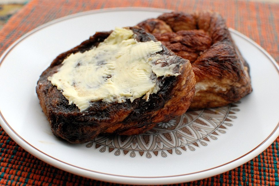 Zeeuwse bolus met boter