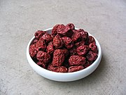 Dried red jujube fruits