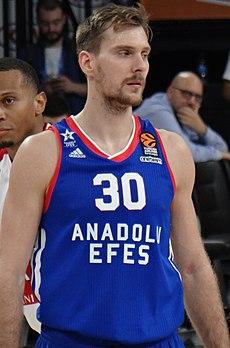 Драгић као играч Анадолу Ефеса