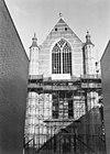 zuidelijke transeptgevel in restauratie - rotterdam - 20191392 - rce