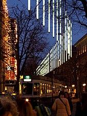 Zürich Weihnachtsbeleuchtung.Bahnhofstrasse Zürich Wikipedia