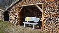 Zusmarshausen-Holzhütte mit Sitzbank, Einladung Hock di na 02.jpg