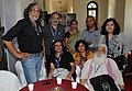 """Chai n Chat"" Session- meet & discuss with Pan Nalin, Suresh Jindal, Shankar Mohan, Shakti Maitra, Swati Chopra, Aryana Farshad, Mujjaffar Ali, at the 43rd International Film Festival of India (IFFI-2012), in Panaji, Goa.jpg"
