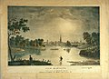 """""""View of St. Louis from South of Chouteau's Lake"""" Published by George Wooll No 71. Market Street St. Louis, Mo.jpg"""