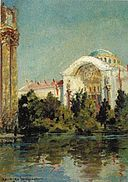 'Palace of Fine Arts' by D. Howard Hitchcock, 1915.jpg