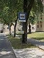 'Táncsics Mihály út' bus stop, 2018 Oroszlány.jpg