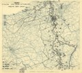 (October 20, 1944), HQ Twelfth Army Group situation map. LOC 2004630230.tif