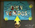 «¡Bienvenidos^, Welcome^, Bine ai Venit^, Ongi etorri^, Benvido^, Witamy^, Fáilte^, Benvinguts, Valkommen^, Welkom^, Ben-vindo^, Willkommen^, Benvenuti^, Üdvözöljuk^» - Albergue de Zamora - panoramio.jpg