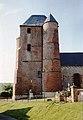 Église Saint-Médard de Prisces en 1991.jpg