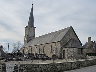 Saint-Martin-de-Cenilly Commune in Normandy, France