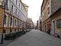 Óbuda University buildings in Tavaszmező Street, 2016 Józsefváros.jpg