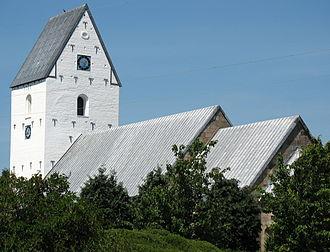 Ølgod - Ølgod church