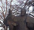 Łódź - Błogosławiony Jan Paweł Wielki na Pl. Katedralnym - panoramio.jpg