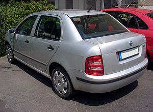 Škoda Fabia - Saloon (pre-facelift)
