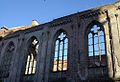 Żabia Ścieżka ruiny Zboru - mur zewnętrzny z gotyckimi oknami fot. BMaliszewska.jpg