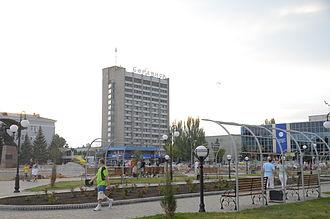 "Berdyansk - Hotel ""Berdiansk"""