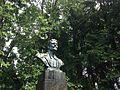 Бюст Чехова в Мелихово летом.JPG