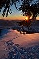 Захід сонця зі схилу гори Дарвайка.jpg