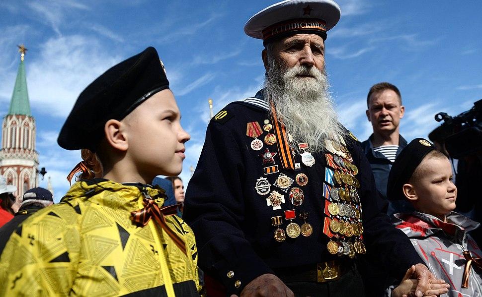 Парад в честь 70-летия Великой Победы - 13