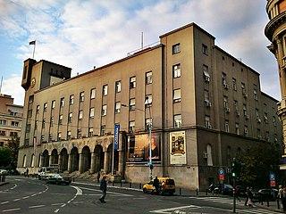 Veterans Club Building building in Belgrade