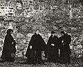 Саша Варламов - Съемки спектакля Кредо в Мирском замке 3 - осень 1990 г.jpg