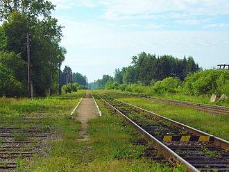 Kesovogorsky District - MYUD railway station