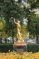 Фонтан «Колокол» со скульптурной группой «Вакх с сатиром» (Петергоф, восточная часть Нижнего парка).JPG