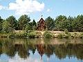 Часовня на реке Оять при Введено-Оятском монастыре, Лодейнопольский район.JPG